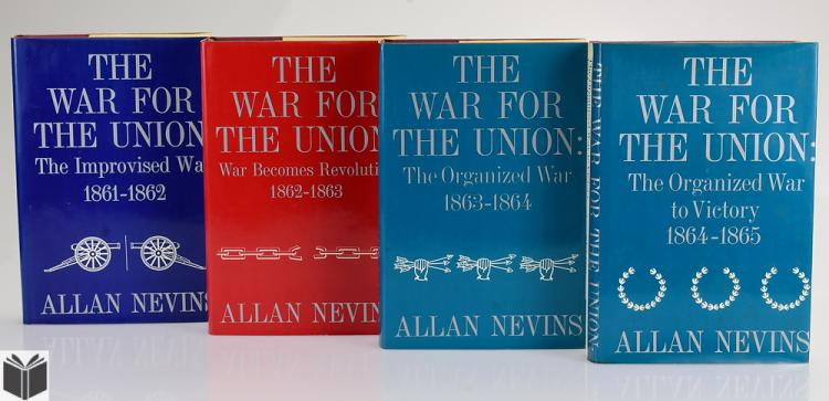 the civil war by allan nevins Ordeal of the union, vol 2: the emergence of lincoln: douglas, buchanan &  party chaos, 1857-59/prologue to civil war, 1859-61 by allan nevins 425 avg .