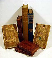 8V Jacobinism Griswold Sermaon 18th-Century London ANTIQUE BRITISH HISTORY Leather Binding Charing Cross Hospital Peter Pumpkin Eater Bickerstaff Lucubrations