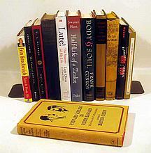 12V Vintage & Recent AUTHOR-SIGNED LITERATURE Fiction Poetry Memoir V.S. Naipaul Robert Pinsky Charles Simic Frank Conroy Erin Brockovich