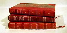 3V Paul Sabatier AUTHOR-SIGNED FRENCH THEOLOGY IN DECORATIVE LEATHER BINDING 1906-1911 Church State Les Modernistes Orientation Religieuse