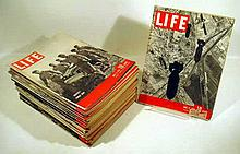 28V Vintage 1947 LIFE MAGAZINE World War II Aftermath Occupation Germany Gregory Peck Bathing Suits GI Bill Student Veterans Teenagers American WWII Casualties Bombing Germany