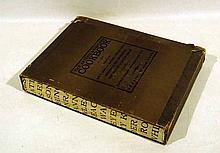 Sachs / Barr THE ARTISTS' & WRITERS COOKBOOK 1961 First Printing Vintage Cookbook