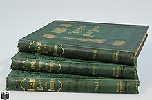 3V J F Nicholls / John Taylor BRISTOL PAST AND PRESENT 1881-1882 Antique British History Tissue-Guarded Frontispieces Textual Figures Civil Modern Ecclesiastical