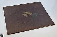 TABULAR STATEMENTS SHOWING THE NAMES OF COMMANDERS OF ARMY CORPS DIVISIONS & BRIGADES US ARMY 1887 Antique American Civil War Military History Elephant Folio Quartermaster