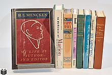 8V Signed Edward A Martin COLLECTIBLE MENCKEN REFERENCE Books On Books Journalism Satire Literary History & Criticism Marion Bloom Gretchen Hood American Mercury