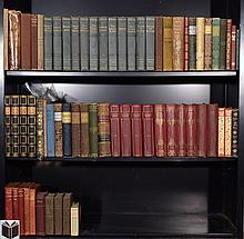 Dickens Shakespeare Eliot DECORATIVE ANTIQUE LITERATURE & POETRY Cooper Lamb Hawthorne Shelley Henry Cabell Frankenstein Lorna Doone Oliver Twist Mickey Mouse Children's Books Leather Bindings
