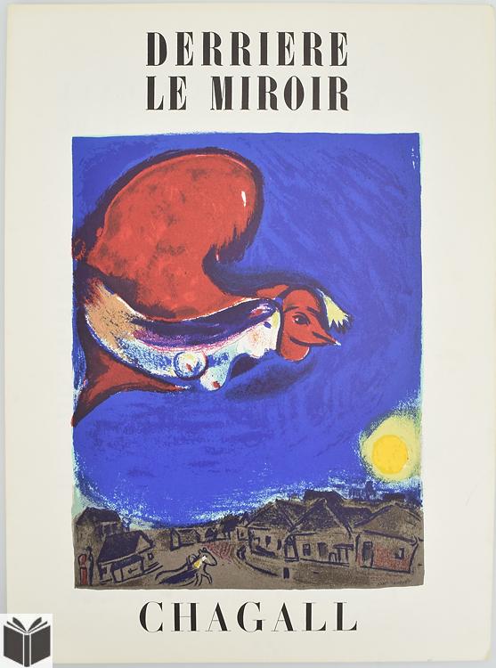3pcs chagall marc vintage derriere le miroir 1950 1960 fren for Derriere le miroir