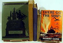 5V Antique NAUTICAL HISTORY United States Navy Wilkes Expedition Polar Exploration WWI Shipping Neutrality Submarines WWII Destroyers 19th C. Canal Traffic Identification of Sailing Ships