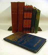 8V Antique DECORATIVE LITERATURE Works of Thomas Hood Joan of Arc Nanette and Her Lovers German Language Classical Mythology Gustav Schwab