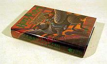 J. K. Rowling HARRY POTTER AND THE PRISONER OF AZKABAN 1999 Author-Signed First Printing Fantasy Novel Children's Literature Mary Grandpre Illustrations