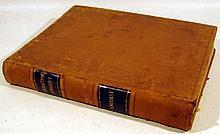 Joseph Pancoast A TREATISE ON OPERATIVE SURGERY 1846 Antique Medicine Anatomy Operations Plates Leather Binding