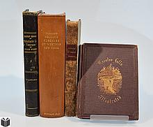 4V Western New York State ANTIQUE HISTORY OF NEW YORK STATE Erie Canal Waterfalls Holland Purchase Military Records Settlers Six Nations Native American