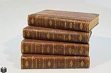 4V William Shakespeare THE DRAMATIC WORKS OF WILLIAM SHAKESPEARE WITH A LIFE OF THE POET 1868 Antique English Literature Classic Plays Decorative Bindings Frontispiece
