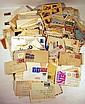 Vintage & Antique POSTAL COVERS Stamps Envelopes United States Foreign International 1920s-1960s