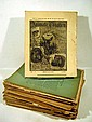 35Pc  Selmar Hess ANIMATE CREATION Antique Natural History Zoology Serially Published Issues With Chromolithographed Plates