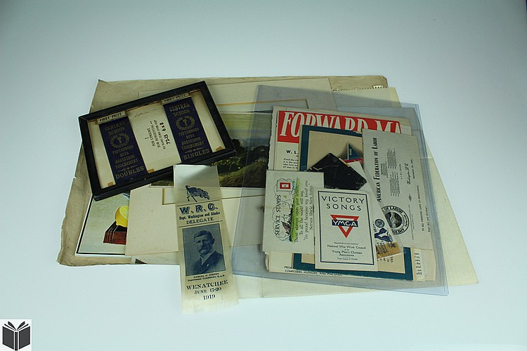 10Pcs Hand Colored Engravings VINTAGE & ANTIQUE ESTATE EPHEMERA WWII War Bonds Ribbons Cairo Map Etching Postcard Pen Ink Drawing Art