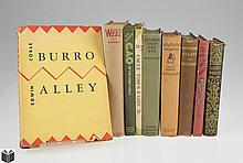9V Signed Limited Corle COLLECTIBLE VINTAGE & ANTIQUE LITERATURE PHILOSOPHY & CHILDREN'S Burro Alley First Edition Garnett Pocahontas First Edition Mulholland Magic Stowe Ivory Coast Essays