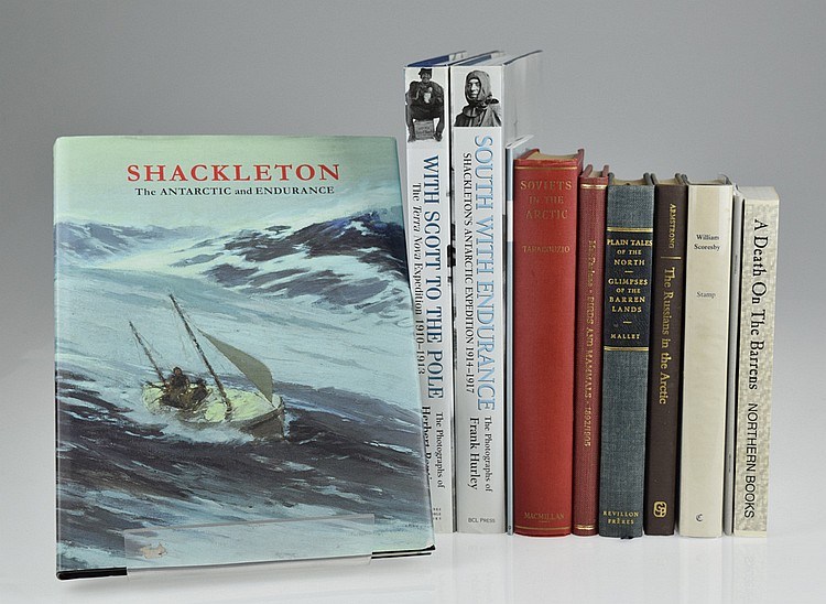 11V Shackleton Expedition POLAR & ARCTIC EXPLORATION Photography Antarctic Expedition Endurance South Pole Russians Soviet Union Scoresby North Barren Lands Death On The Barrens John Powles Cheyne
