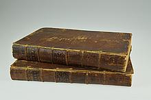2V Jean Frederic Ostervald THE HOLY BIBLE CONTAINING THE OLD AND NEW TESTAMENTS 1783 Antique Theology History Plates