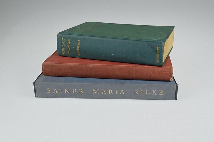 3V First & Limited Editions ESTATE BOOKS Illustrator-Signed Kipness Rilke Santayana Hendelson Zuckler Poetry Literature Music Reference Vintage Slipcase