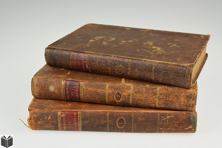 3V Thomas Clarkson A PORTRAITURE OF QUAKERISM 1806 First American Edition Antique Society Of Friends Education Social Manners Political Economy Religious Principles