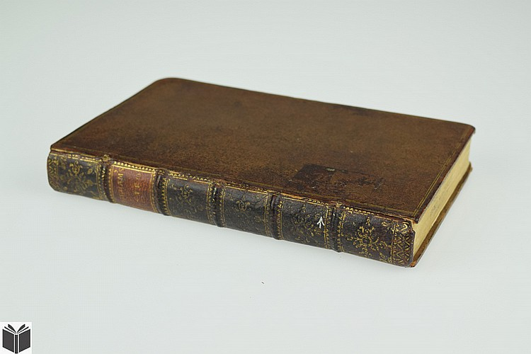 William Derham ASTRO-THEOLOGY 1738 Antique Astronomy Theology Historiated Initials Fold-Out Plates Leather Binding