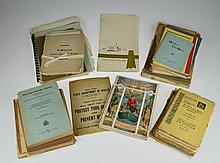 50Pcs Vintage Antique Ephemera NEW YORK STATE HISTORY Panorama Hudson Bombardment Tompkins County Revolution Cazenovia Seminary Art