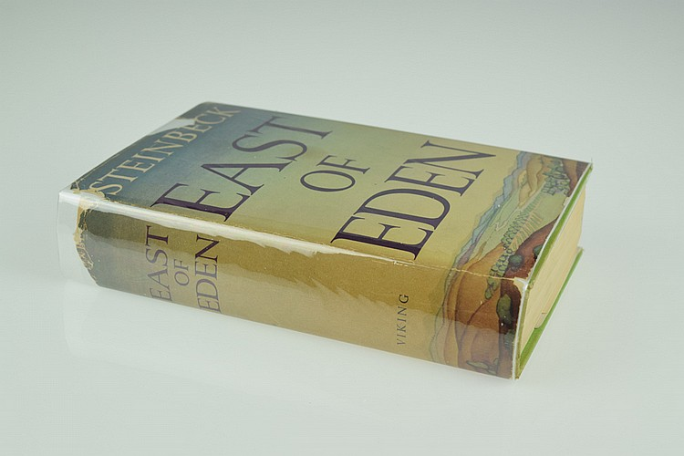 John Steinbeck EAST OF EDEN 1952 First Issue & Edition American Literature Salinas California Dust Jacket