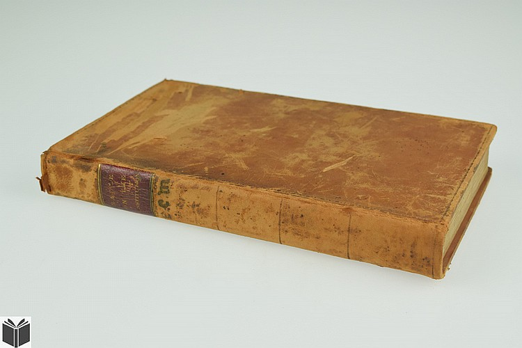 William Rawle A VIEW OF THE CONSTITUTION 1825 Antique American History United States Laws Government Leather Binding