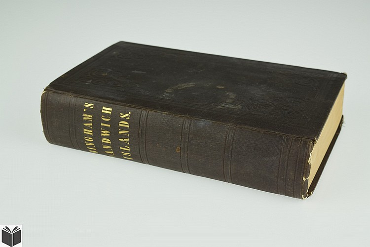 Hiram Bingham A RESIDENCE OF TWENTY-ONE YEARS IN THE SANDWICH ISLANDS 1848 Antique Hawaii History Missionary Operations Plates
