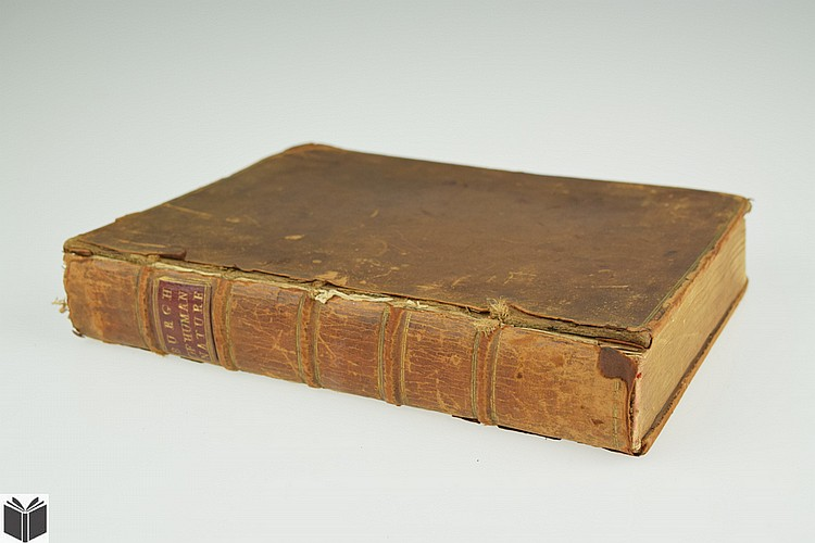 James Burgh THE DIGNITY OF HUMAN NATURE 1754 First Edition Antique Theology