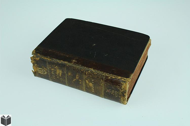 Thomas Godwyn MOSES & AARON CIVIL & ECCLESIASTICAL RITES Antique Theology Old Testament Biblical History Roman Attick Antiquities