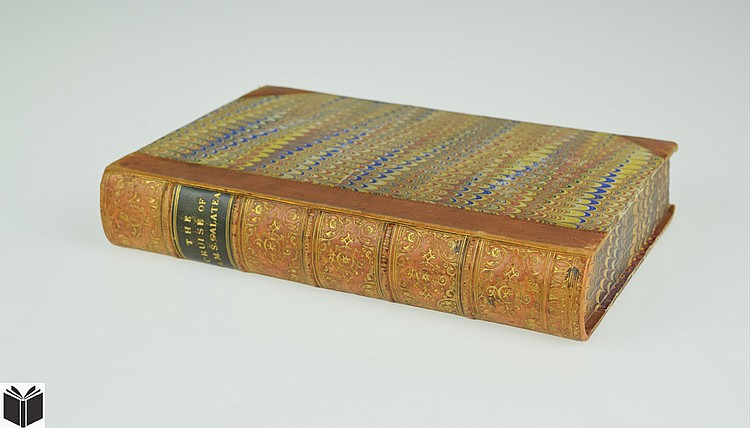 John Milner / Oswald Walters Brierly THE CRUISE OF H M S GALATEA 1869 Antique Nautical History Chromolithograph Plates Decorative Binding