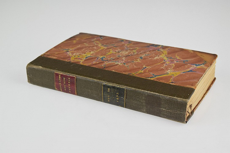 THE JOURNAL OF THE ROYAL GEOGRAPHICAL SOCIETY OF LONDON 1833 1834 Antique English Exploration Engraved Fold-Out Maps Plates