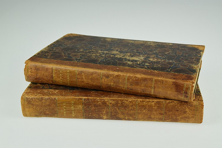 2V Charles Knight ANTIQUE PENNY MAGAZINE BOUND COMPILATIONS 1832 Society For The Diffusion Of Useful Knowledge Working Class Wood Engravings Whig Party