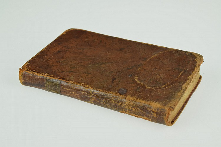 John Macgowan DEATH A VISION OR THE SOLEMN DEPARTURE OF SAINTS AND SINNERS 1746 Antique Scottish Theology American Imprint Leather Binding