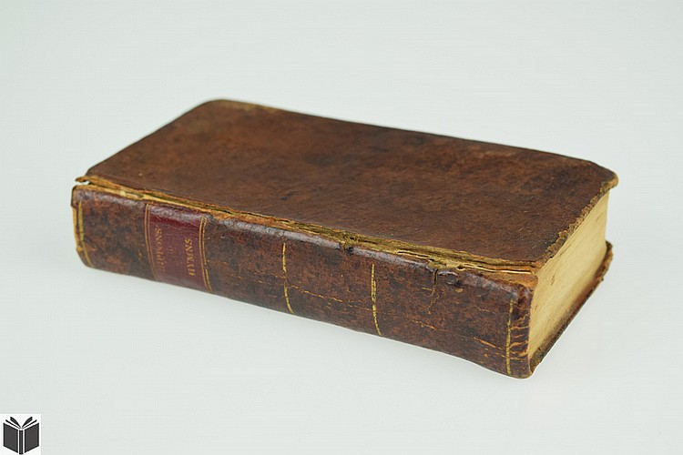 John Rippon A SELECTION OF HYMNS FROM THE BEST AUTHORS 1803 Antique Hymnal Theology Christianity Psalms Leather Binding