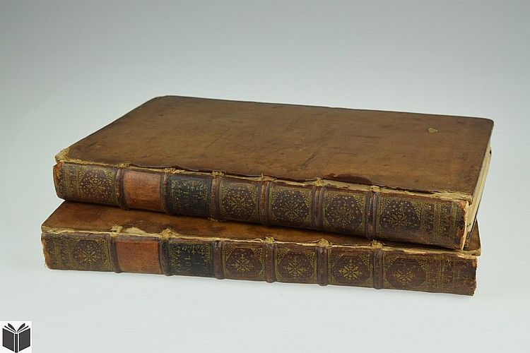 2V John Dart WESTMONASTERIUM OR THE HISTORY AND ANTIQUITIES OF THE ABBEY CHURCH OF ST PETERS WESTMINSTER 1723 Antique English Church History Engraved Fold-Out Plates Theology