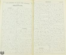 Pitman Shorthand HOLY BIBLE Phoenetic Institute 1867 Manuscript