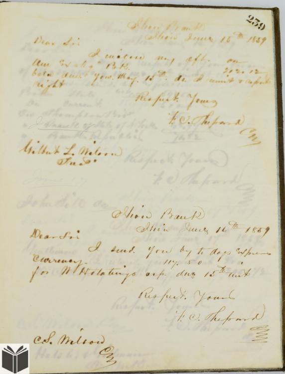 16Pcs Remington Founder Signatures ANTIQUE MANUSCRIPT