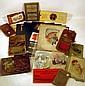 Antique ESTATE EPHEMERA Jim Crow Black Americana Decorative Covers 1908 Hudson River Railroad Tunnels Chromolithograph Trade Cards Postcards Decorative Autograph Book Primer 1814 Byron