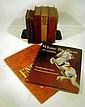 8V Antique & Vintage ADULT & CHILDREN'S LITERATURE Edgar Rice Burroughs Tarzan Hand-Sewn 18th C. Periodical Marguerite Henry Lipizzaner First Edition Dust Jacket