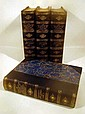 4V Garnett / Gosse ENGLISH LITERATURE 1903-1904 First Edition Antique Literary History Color Plates Portraits Fold-Out Facsimiles Fancy Binding