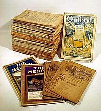 Antique 1890s MAGAZINES & PERIODICALS McClure's Godey's Munsey's Monist Outlook R.L. Stevenson Ida Tarbell Kipling Burroughs