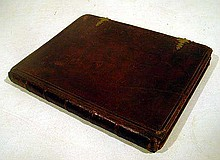 Robert T. Conrad BIBLE BREATHINGS CONTAINING SINAI AND OTHER DEVOTIONAL POEMS c1862 Antique Manuscript Leather Binding