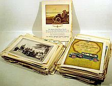 Vintage & Antique AUTOMOTIVE HISTORY Car Brand Development Advertising Ephemera Obscure Automobiles Electric Cars