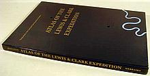 Gary E. Moulton ATLAS OF THE LEWIS & CLARK EXPEDITION 1999  Western Americana New Elephant Folio In Shrink Wrap 126 Maps