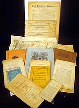 Antique & Vintage COLLECTIBLE EPHEMERA Ivy League Yale 1874 Timothy Dwight Maps Harvard 1794, 1823 Commencement 1894 Crimson Dartmouth Robert Frost Bryn Mawr College Theology South Pacific Missionary Melanesian
