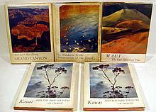 5V Vintage Large-Format NATURE PHOTOGRAPHY Hawaii Kauai Maui Robert Wenkam Grand Canyon Francois Leydet Eliot Porter Sierra Club Color Plates