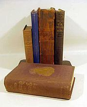 5V Antique AMERICAN & FRATERNAL HISTORY 1815 Niles Weekly Register 1854 Census Statistics Pennsylvania Masons Odd Fellows Monitor and Guide Ahiman Rezon Knights Templars Text Book Songs